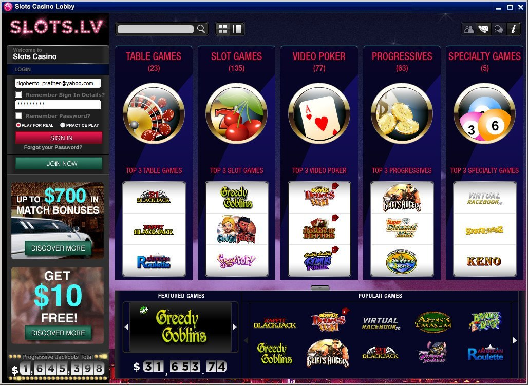 windows casino online
