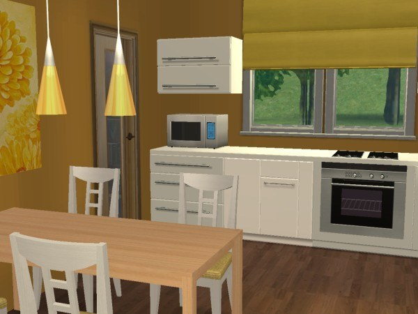 The sims 2 kitchen and bathroom software informer for Sims 2 kitchen ideas