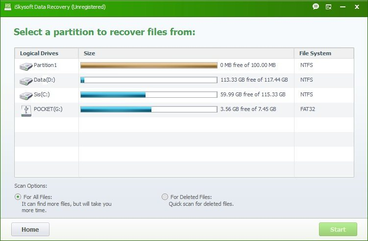 Raw Data Recovery