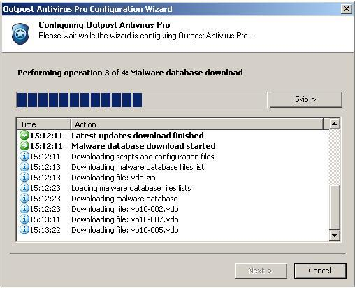 Downloading Malware Database