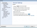 Settings Window