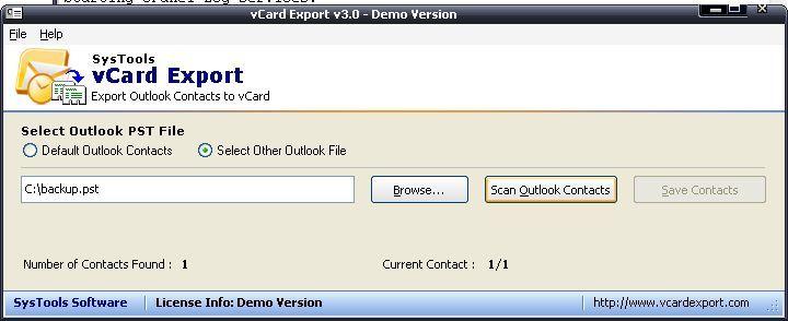 scanned PST file