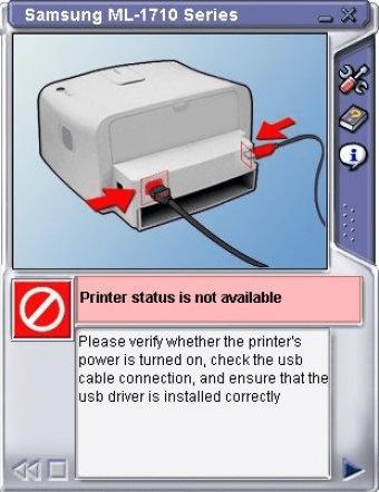 Принтер самсунг 1710 драйвер