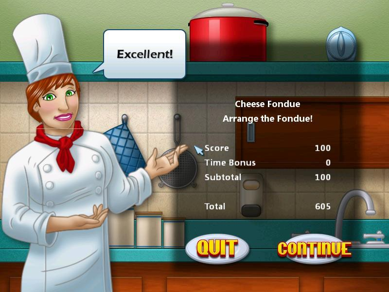 Cooking Academy-Score