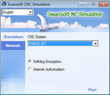 Simulator Selection Interface