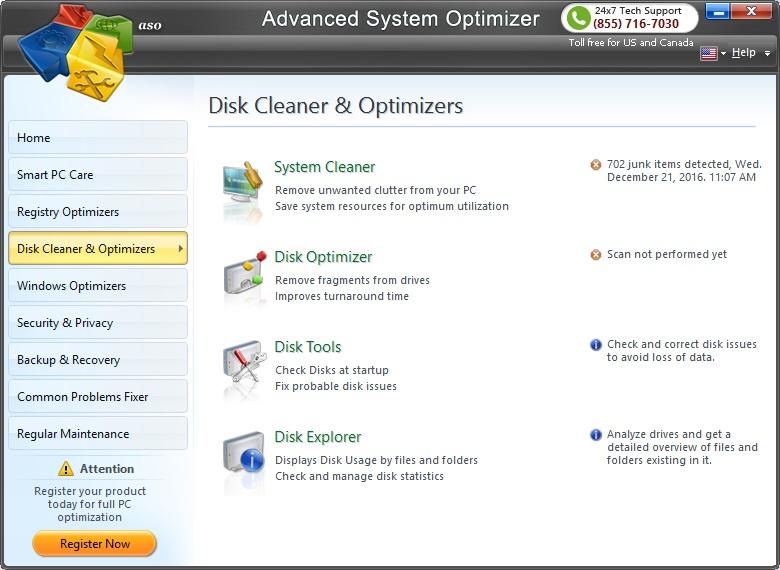 Disk Cleaner & Optimizer