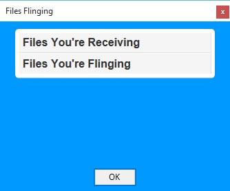 Files Flinging