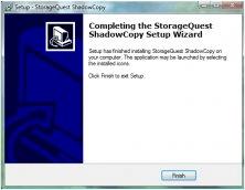 Completing Wizard Setup Option