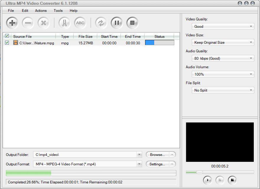 Converting a file