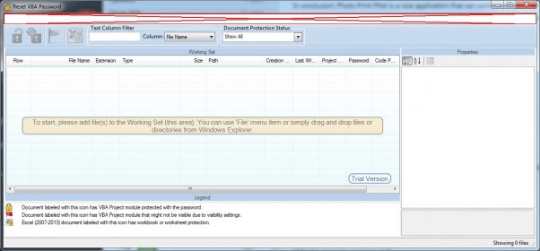 Reset VBA Password Download - You can use this program for