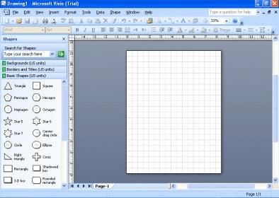 screenshots - Visio Microsoft Trial
