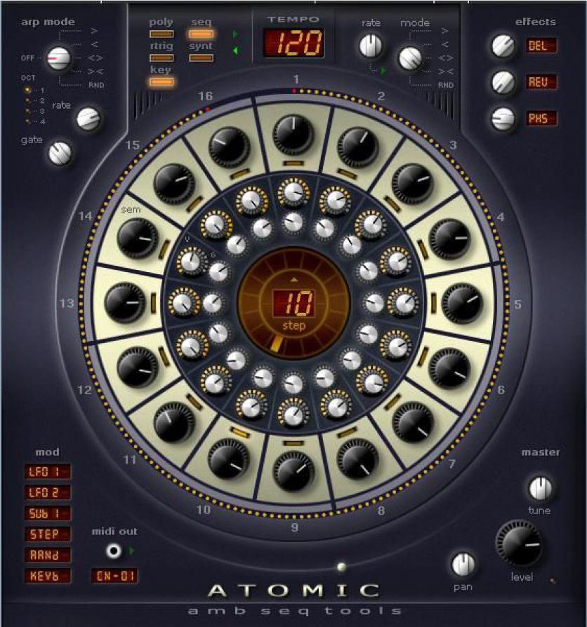 AlgoMusic Atomic 1.0 VSTi