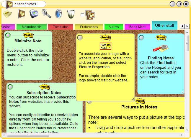 Post-it® Software Notes Lite Software Informer: Screenshots - photo#3