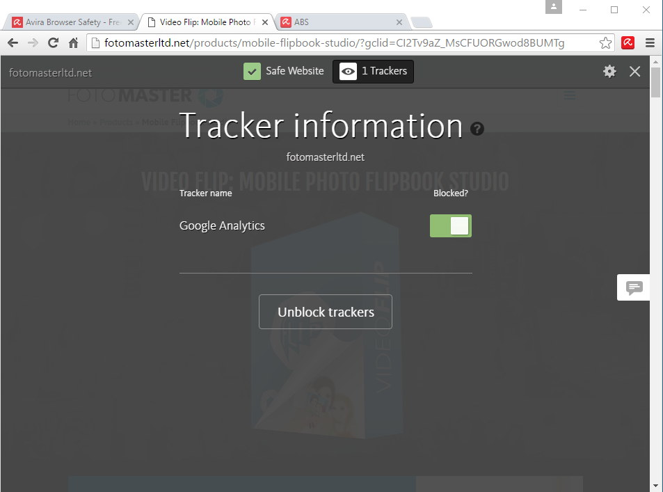 Tracker Info