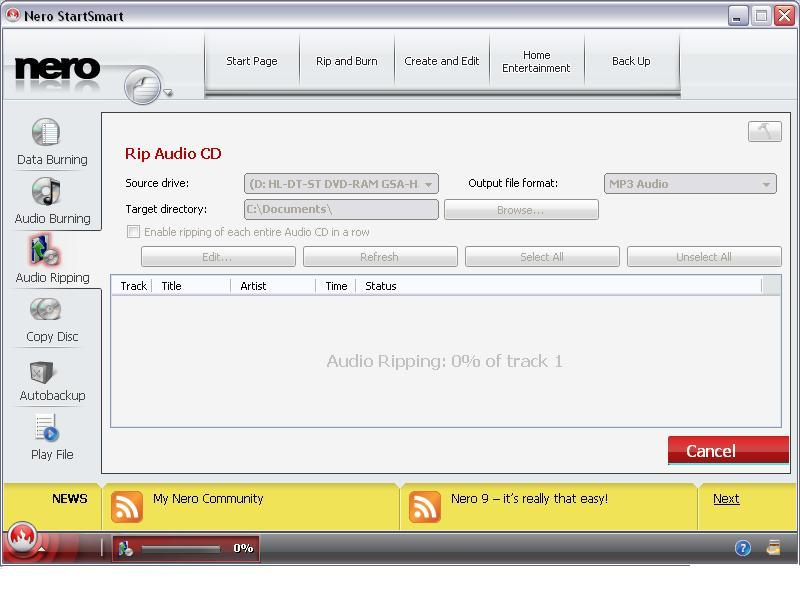 Rip Audio Cd