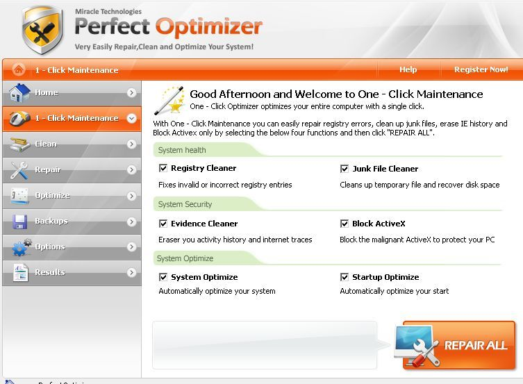 1-Click Maintenance