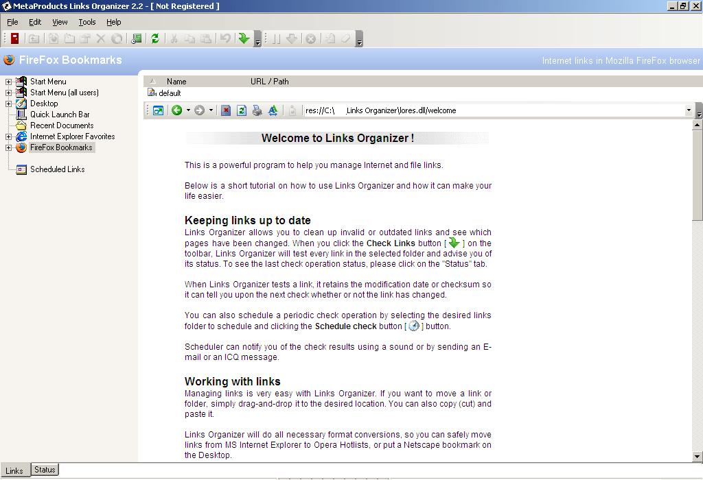 Internal Browser