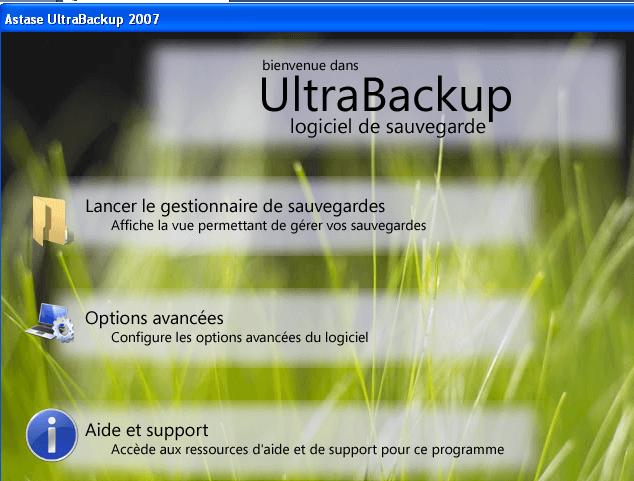 astase ultrabackup