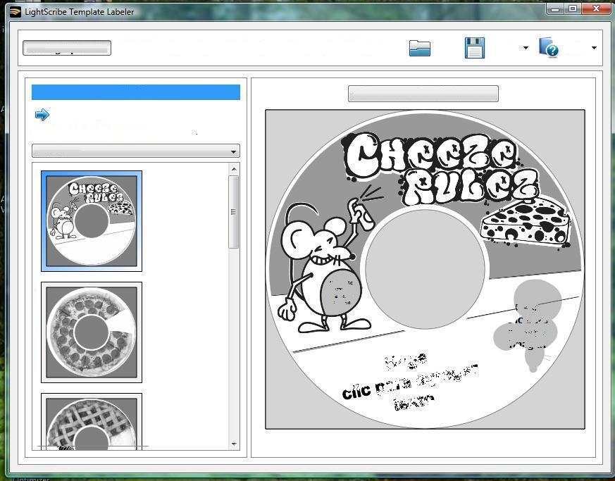 LightScribe Template Designs - Food-n-Family Pack Software Informer ...