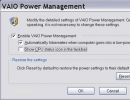 Enable Power Management