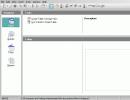 Database initial window