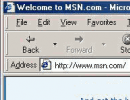 IE55 Menu Bar