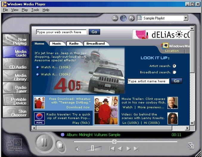 Media Player Download : Free Download- Internet Archive