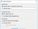 Send as Zip file