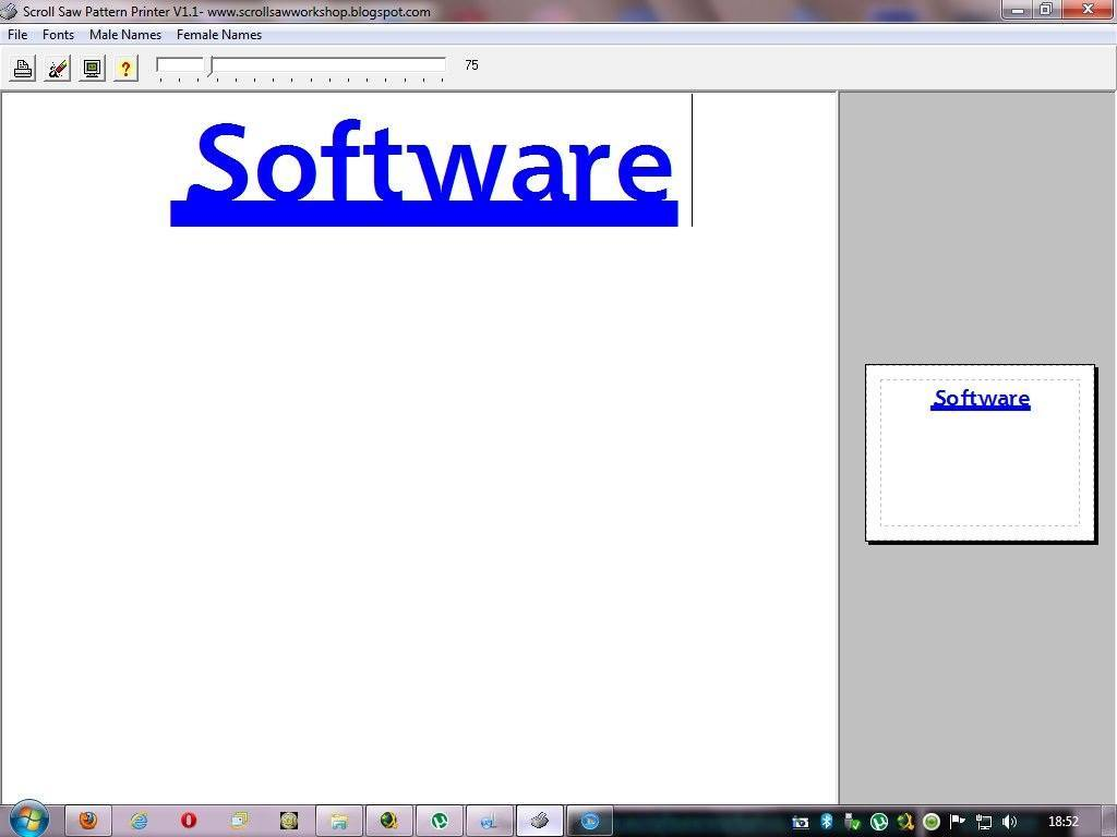 Free Scroll Saw Pattern Software