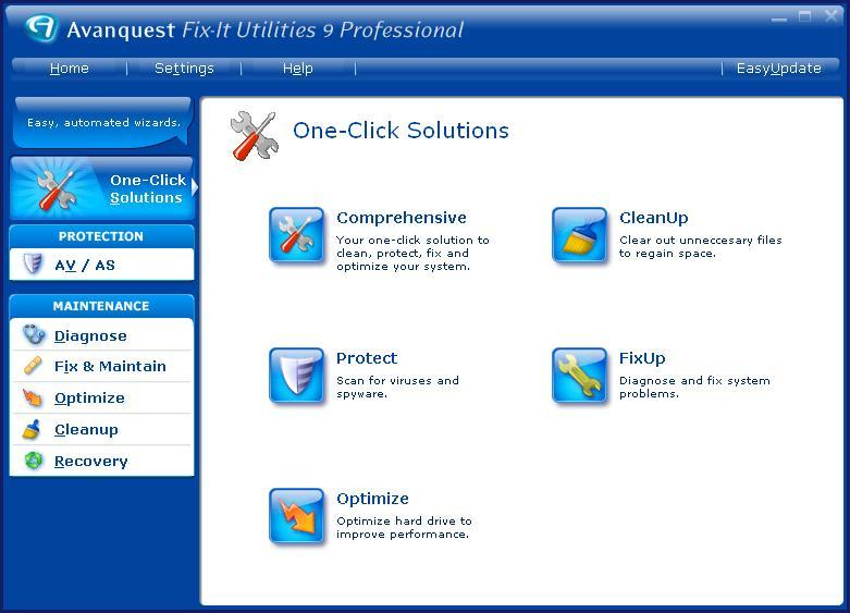 One click solutions