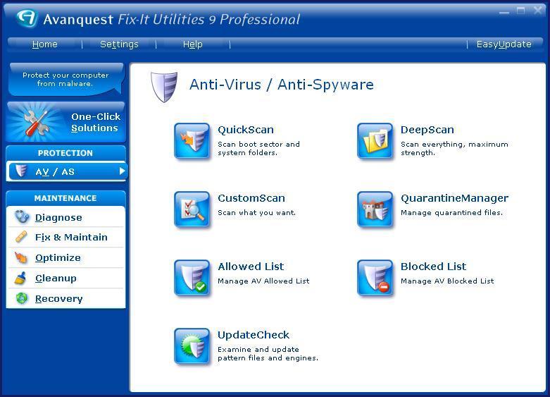 Anti-virus protection