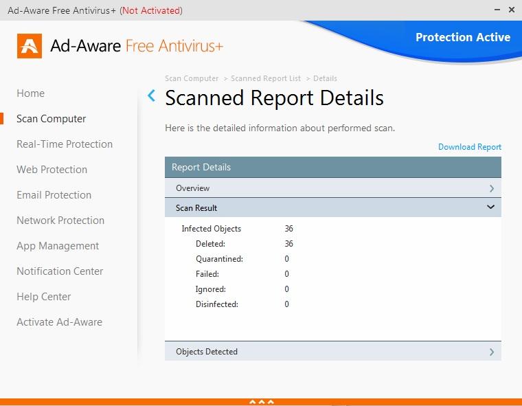 Scan Report
