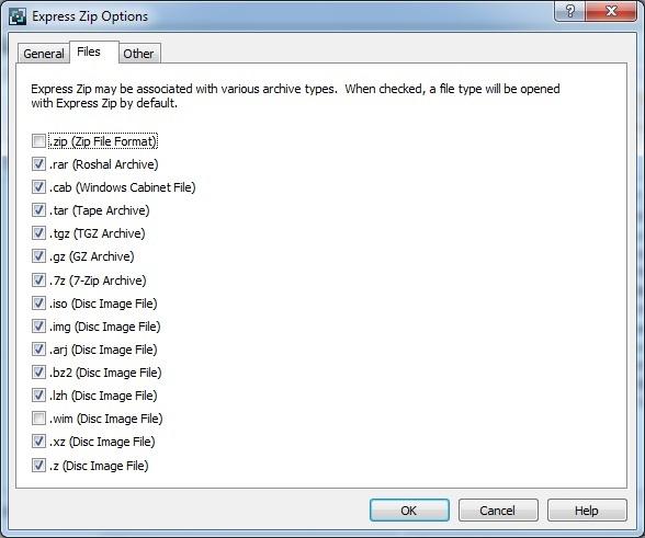 Archive File Association