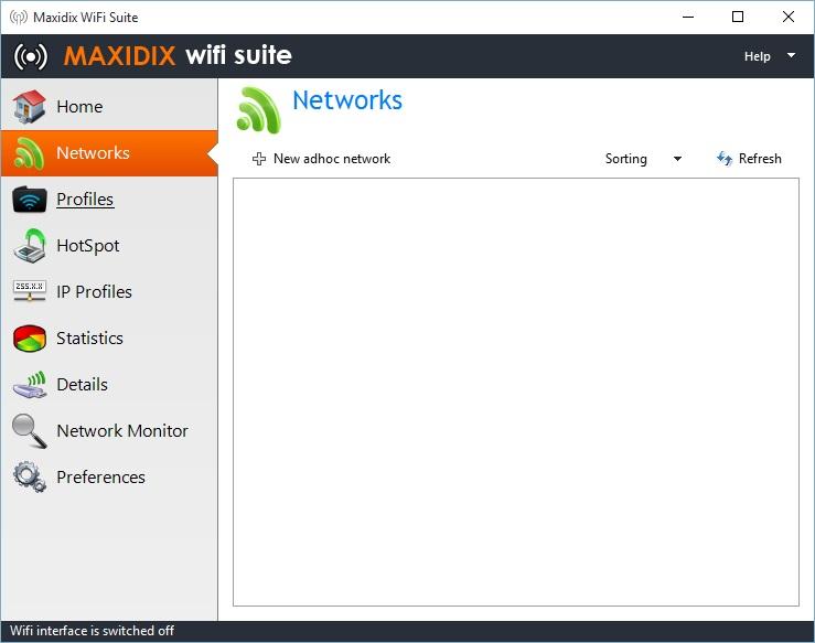 Networks Tab