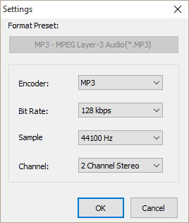 Output Merging Settings
