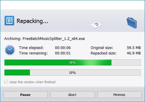 Repack Files