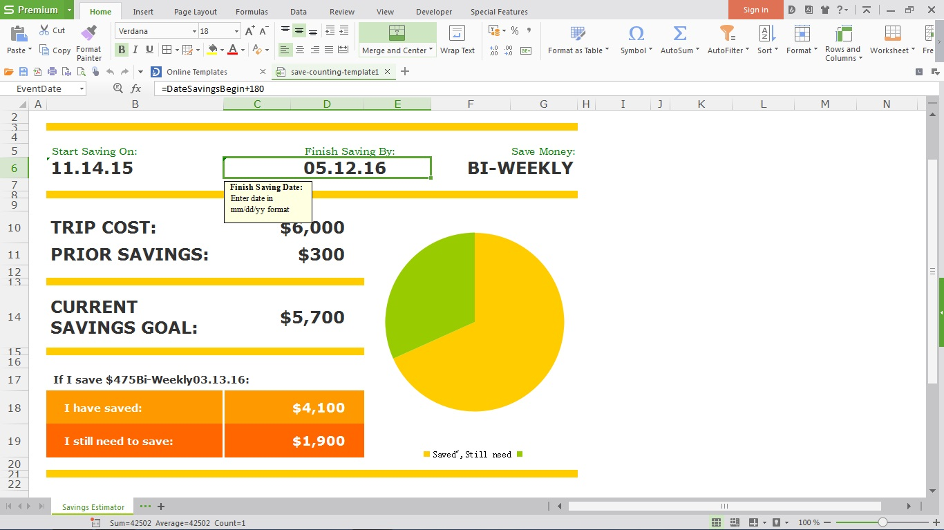 Spreadsheet customization