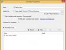Installer Properties - Automation Script