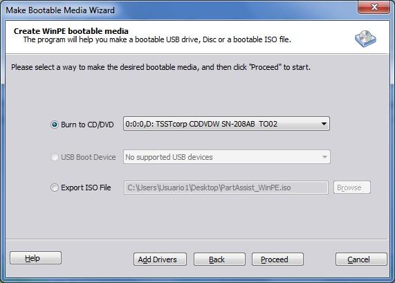 Make Bootable Media