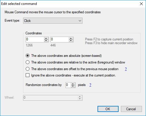 Editing Command