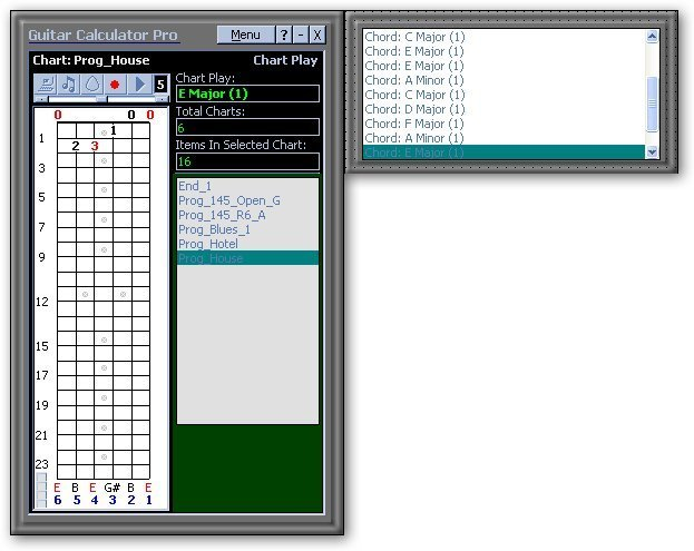 Guitar Calculator-Example 2
