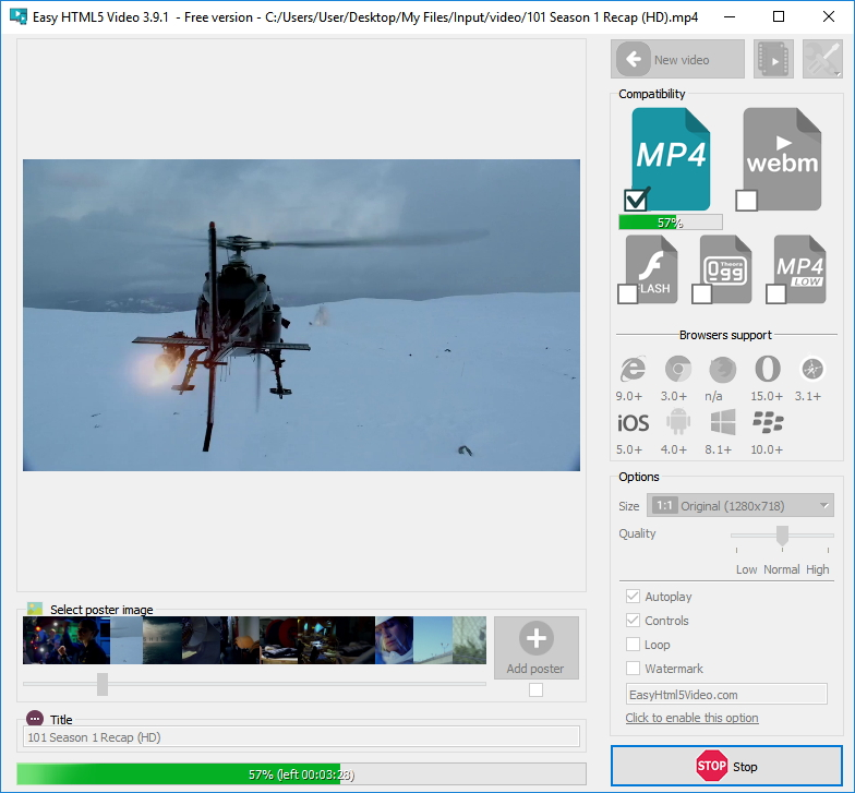 Converting Video