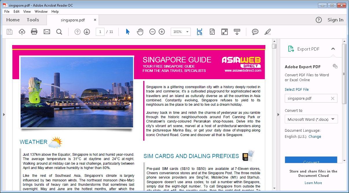 Open PDF Files