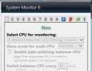 CPU Selection