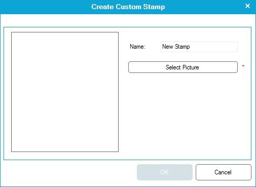 Create custom stamp