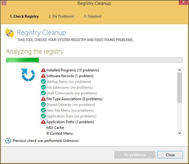 Registry Cleanup Tool