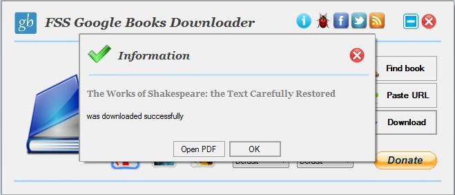 Successful Download