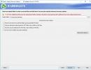 Selecting Destination Folder For Restored Data