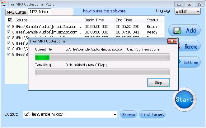 Merging Files