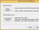 New-Account Creation Wizard